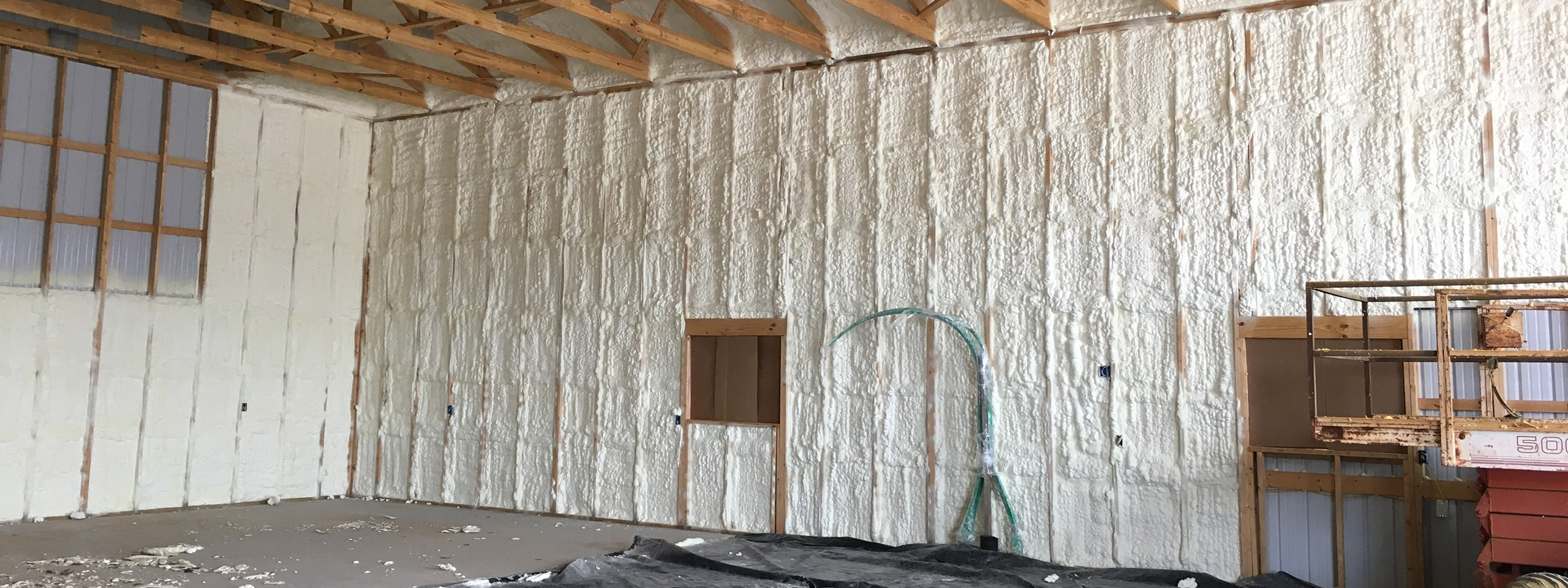 InsulBloc® Seamless Spray Polyurethane Foam Insulation Central Kentucky